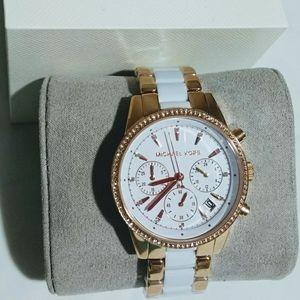 NWT Michael Kors women Ritz Watch